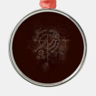 Ornamento De Metal Motivo espectral de SteamPunk
