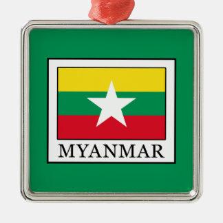 Ornamento De Metal Myanmar