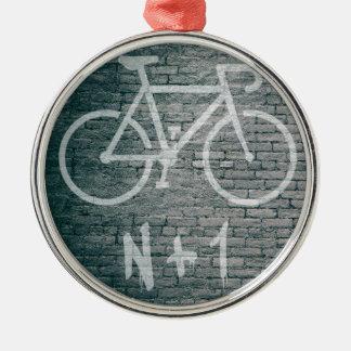 Ornamento De Metal N+1 grafite da bicicleta