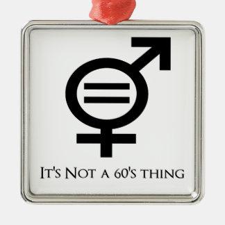 Ornamento De Metal Não é uma coisa 60s