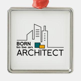 Ornamento De Metal Nascer a ser um arquiteto
