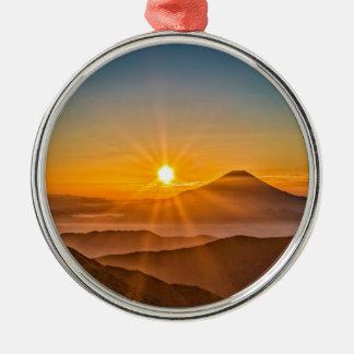 Ornamento De Metal Nascer do sol