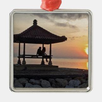Ornamento De Metal Nascer do sol de Beautidul em Bali