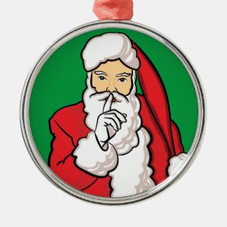 Ornamento De Metal Natal Papai Noel