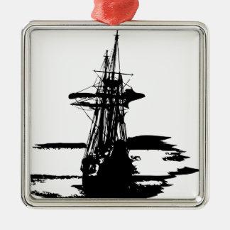 Ornamento De Metal navio de pirata