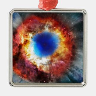 Ornamento De Metal Nebulosa da hélice