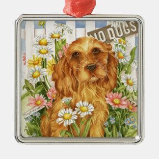 Ornamento De Metal Nenhuns cães!
