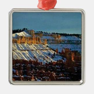 Ornamento De Metal neve no bryce