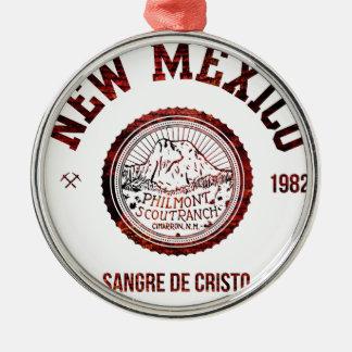 Ornamento De Metal New mexico