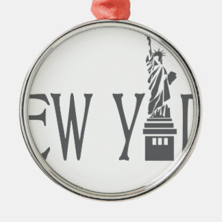 Ornamento De Metal New York