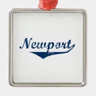 Ornamento De Metal Newport