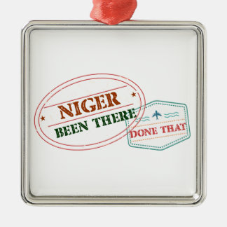 Ornamento De Metal Niger feito lá isso