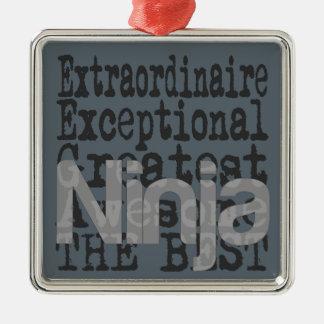Ornamento De Metal Ninja Extraordinaire