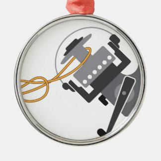 Ornamento De Metal Nó da pesca para conectar a linha ao vetor do