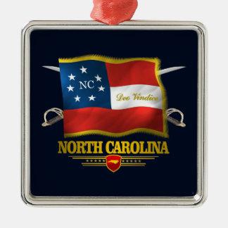 Ornamento De Metal North Carolina - Deo Vindice