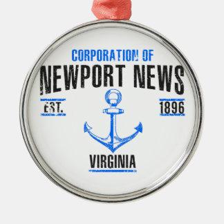 Ornamento De Metal Notícia de Newport