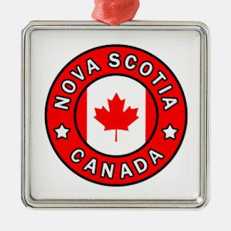 Ornamento De Metal Nova Escócia Canadá