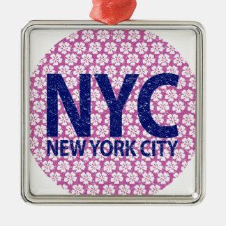 Ornamento De Metal Nova Iorque NYC