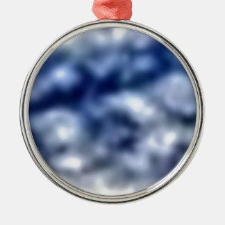 Ornamento De Metal Nuvens azuis