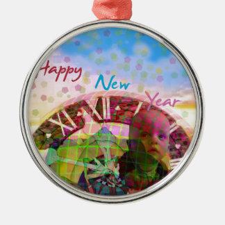 Ornamento De Metal O ano novo está vindo logo