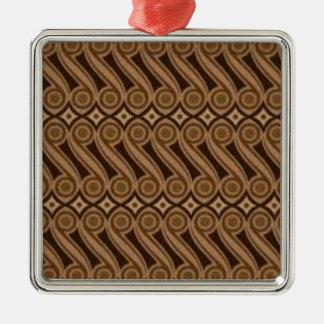 Ornamento De Metal O Batik de Parang