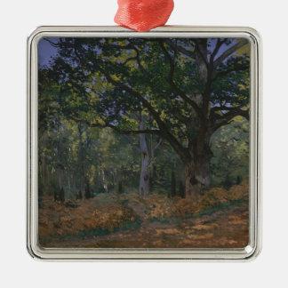 Ornamento De Metal O carvalho de Bodmer, floresta de Fontainebleau