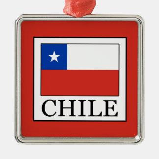 Ornamento De Metal O Chile