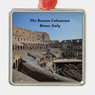 Ornamento De Metal O Colosseum romano, Roma, Italia