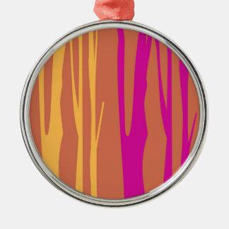 Ornamento De Metal O design alinha a EDIÇÃO do QUARTO da árvore