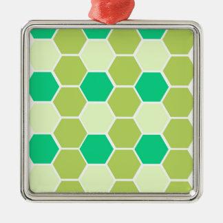 Ornamento De Metal O design obstrui o eco verde