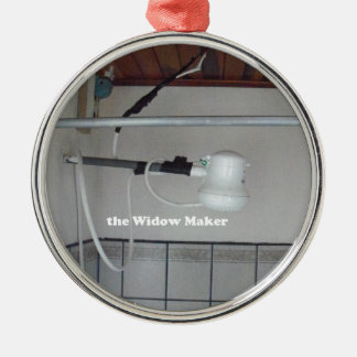 Ornamento De Metal o fabricante da viúva