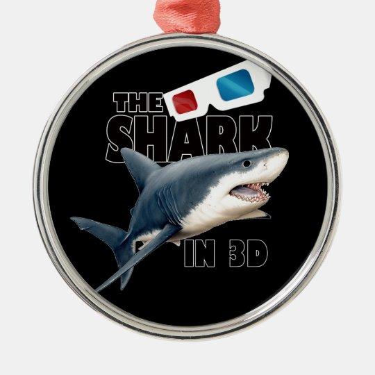 Ornamento De Metal O filme do tubarão