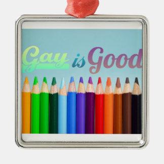 Ornamento De Metal O gay é bom design