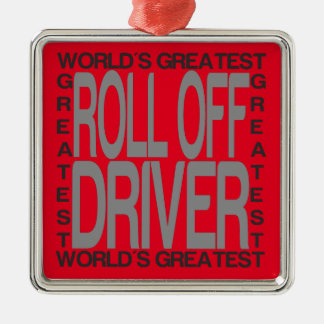 Ornamento De Metal O grande rolo dos mundos fora do motorista