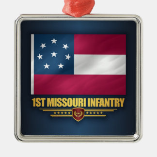 Ornamento De Metal ø Infantaria de Missouri