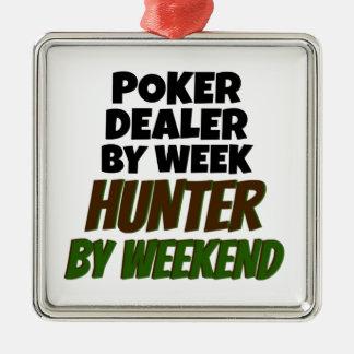 Ornamento De Metal O negociante do póquer ama caçar