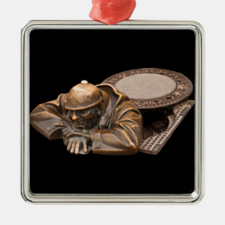 Ornamento De Metal O observador
