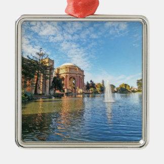 Ornamento De Metal O palácio das belas artes Califórnia