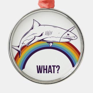 Ornamento De Metal o que, peixes refrigeram o design gráfico