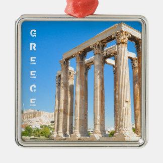 Ornamento De Metal O templo do olímpico Zeus em Atenas, piscina