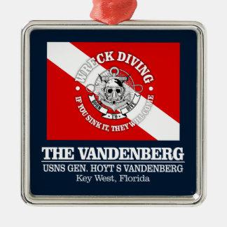 Ornamento De Metal O Vandenberg (as melhores destruições)