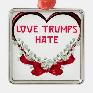 Ornamento De Metal ódio dos trunfos do amor