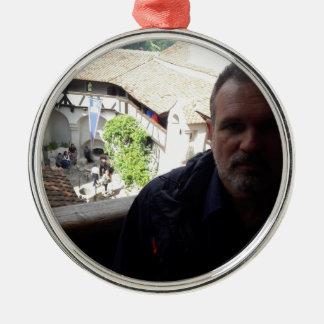 Ornamento De Metal Olhar interno no castelo do farelo. Dracula?