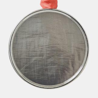 Ornamento De Metal Olhar malogrado do tecido das cinzas de prata