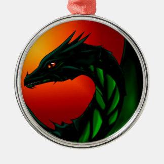 Ornamento De Metal Olho do dragão