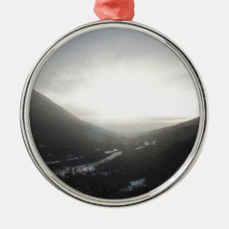 Ornamento De Metal Opinião Alaska da passagem de Hatcher