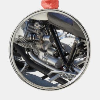 Ornamento De Metal Opinião lateral cromada motocicleta do detalhe do