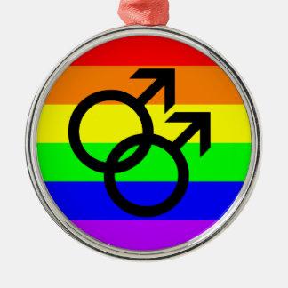 Ornamento De Metal Orgulho gay