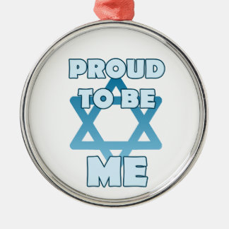 Ornamento De Metal Orgulhoso ser judaico