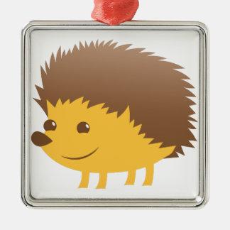 Ornamento De Metal ouriço pequeno bonito